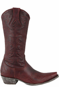 Old Gringo Women's Red Dolce Stitch Boots - Side