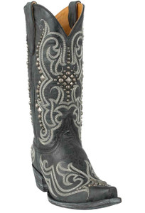 Old Gringo Women's Black Dolce Stud Boots - Hero