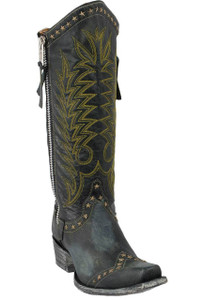 Old Gringo Women's Black Rockstar Boots - Hero