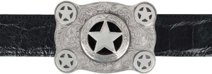 "Pinto Ranch Cinco Peso 1 1/2"" Trophy Buckle"