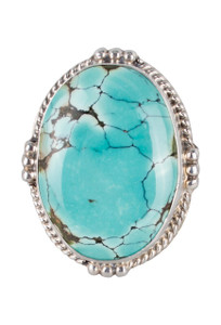 Pinto Ranch Turquoise Oval Ring