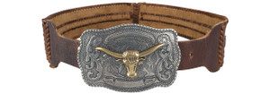 Union of Angels Cattleman Longhorn Belt