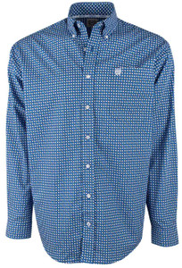 Cinch Royal Medallion Foulard Shirt - Front