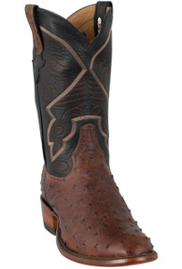 Rios of Mercedes Men's Sienna Lux Full-Quill Ostrich Boots