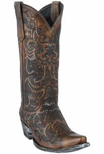 Old Gringo Women's Tan Panya Boots - Hero