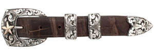 "Comstock Heritage Jackson Star 1"" Buckle Set"