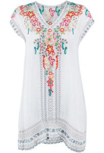 Johnny Was Letty Tunic - Front
