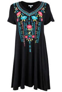 Caite Kylie Rayon Dress - Front