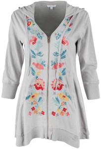 Caite Cleo Cotton Jacket - Front