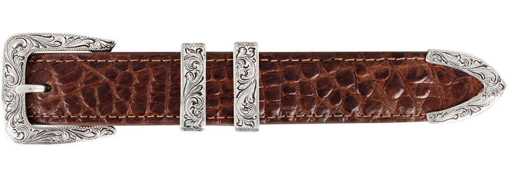 "Chacon Denver Engraved 1"" Buckle Set"