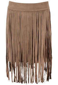 Union of Angels Allie Fringe Skirt Front