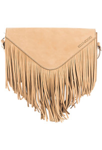 Kelly Tooke Mountain Fringe Crossbody - Natural Front