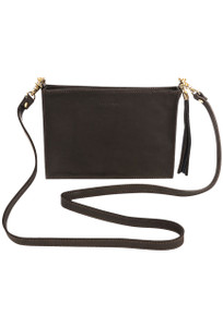 Kelly Tooke Small Crossbody - Brown Front