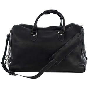 Kelly Tooke Duffle - Black Front