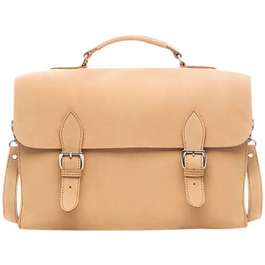 Kelly Tooke Rancho Messenger Bag - Natural Front