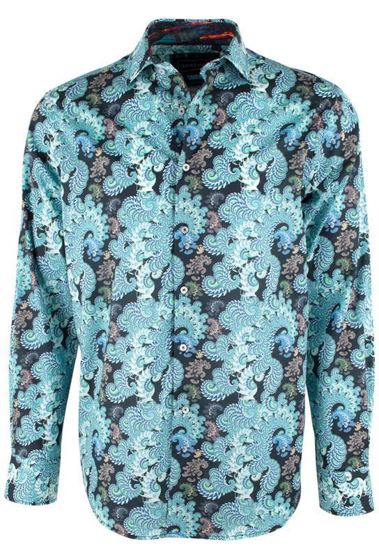 David Smith Australia Seaspray Silcott Shirt - Front