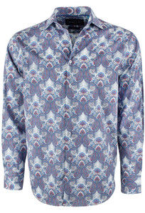 David Smith Australia Lotus Dream Print Shirt - Front