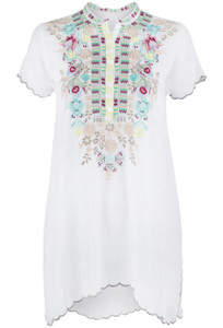 Johnny Was Livana Tunic - Front