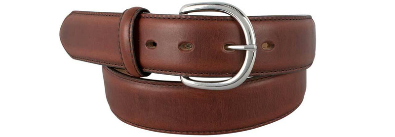 Classic Western Belt - Dark Brown