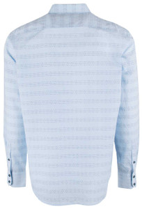 Robert Graham Light Blue Dev Sport Shirt - Back