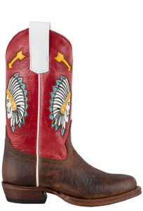 Macie Bean Kids Chief So Cute Boots - Side