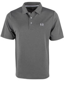 Cinch ArenaFlex Heather Gray Polo Shirt