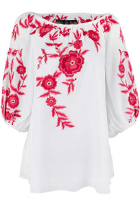 Vintage Collection White Faith Tunic - Front