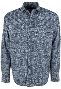 David Smith Australia Pearl Swirl Print Shirt