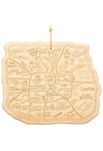 Home - Houston City Bamboo Cutting Board
