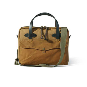 Filson Tablet Briefcase - Tan - Front