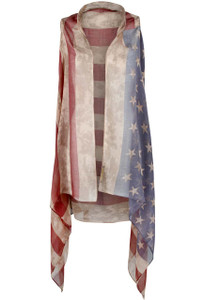 Pat Dahnke Old Glory Two Hole Vest - Front