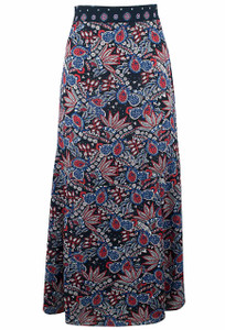 Foxcroft Sienna Americana Paisley Skirt - Front