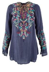 Johnny Was Sheesoh Blouse - Front