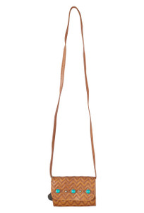 American West Game Day with Turquoise Crossbody - Front