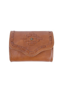 American West Amber Wave Game Day Crossbody -Front