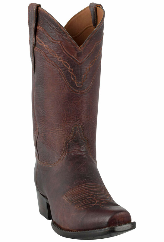 Black Jack for Pinto Ranch Men's Tan Denver Calf Boots