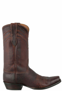 Black Jack for Pinto Ranch Men's Tan Denver Calf Boots - Side