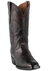 Black Jack for Pinto Ranch Men's Black Cherry Goat Boots -Hero