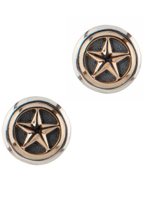 Greg Jensen Gold Star Cufflinks - Front