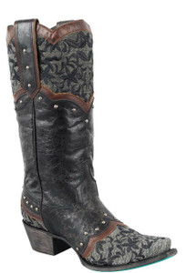 Lane Women's Black Kimmie Boots - Side