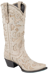 Lane Women's Bone Robin Boots - Front