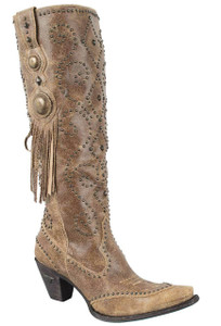 Lane Women's Tan Conchita Boots - Hero
