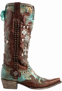 Double D Ranch by Old Gringo Ammunition Boots - Side