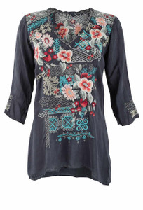 Johnny Was Freyja Blouse - Front