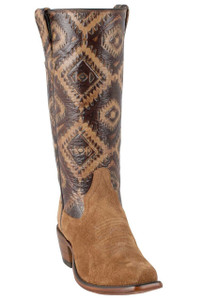 Rios of Mercedes Women's Toast Kechi Embossed Remuda Boots