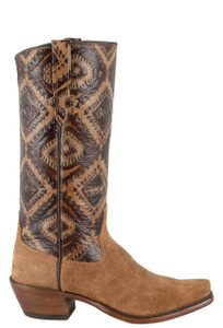 Rios of Mercedes Women's Toast Kechi Embossed Remuda Boots - Side