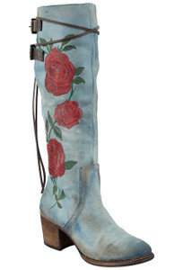 Freebird by Steven Women's Denim Rose Cyrus Boots- Hero