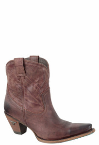 Lane Women's Wine Julia Shortie Boots