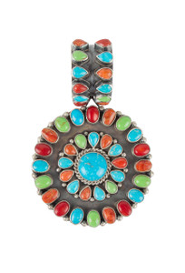 Rocki Gorman Multi Stone Circle of Life Pendant
