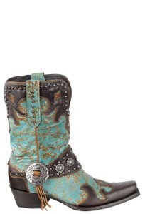 Double D Ranch by Old Gringo Ranchitos Ridge Boots - Side